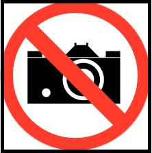 verboden te fotograferen
