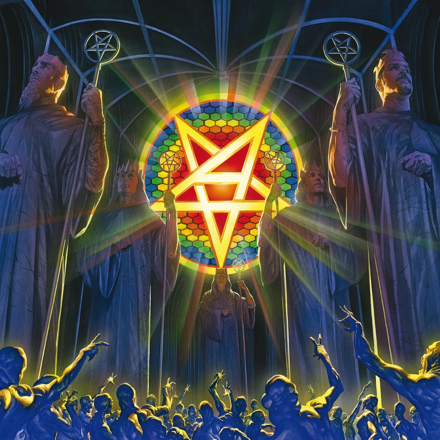 Anthrax - For All Kings - Artwork