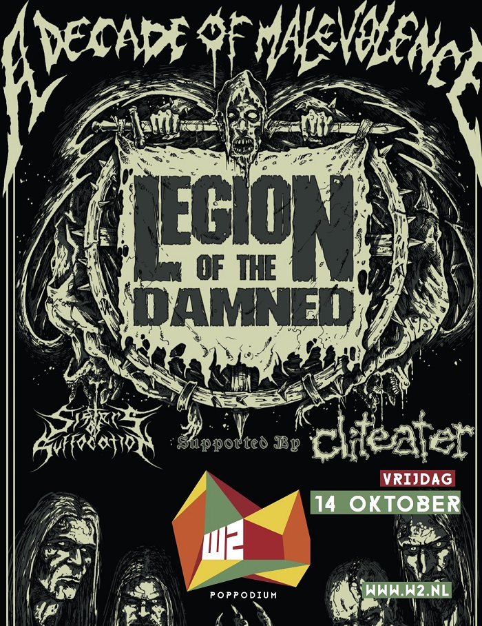 16-10-14 Legion of the Damned Poster
