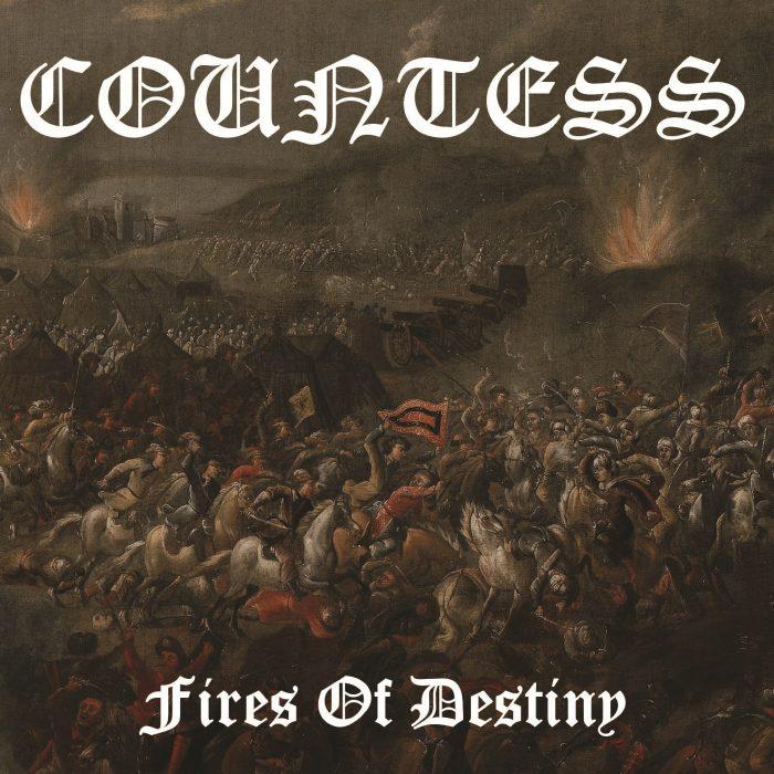 Countess - Fires Of Destiny album cover