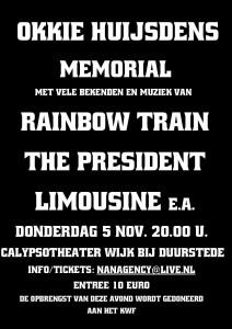 okkie huijsdens memorial poster