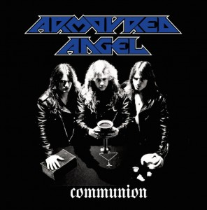armoured angel - communion cover