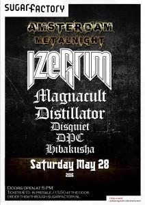 Amsterdam Metalnight 28 mei